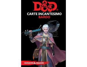 ASTERION D&D V ED. CARTE INCANTESIMO BARDO GIOCO DI RUOLO