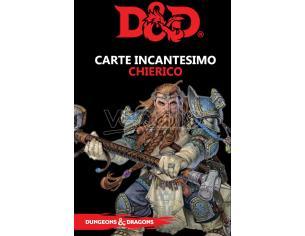 ASTERION D&D V ED. CARTE INCANTESIMO CHIERICO GIOCO DI RUOLO