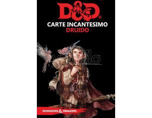 ASTERION D&D V ED. CARTE INCANTESIMO DRUIDO GIOCO DI RUOLO