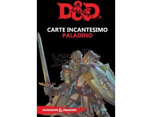 ASTERION D&D V ED. CARTE INCANTESIMO PALADINO GIOCO DI RUOLO