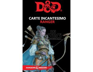 ASTERION D&D V ED. CARTE INCANTESIMO RANGER GIOCO DI RUOLO