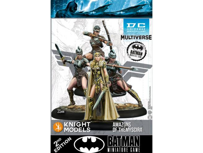 KNIGHT MODELS BMG DCUMG AMAZONS OF THEMYSCIRA WARGAME