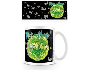 PYRAMID INTERNATIONAL RICK AND MORTY FLOATING CATS MUG TAZZA