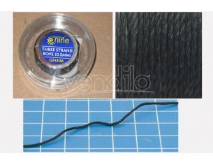 GF9-BATTLEFRONT HOBBY ROUND- THREE STRAND ROPE (0.5mm) ACCESSORI