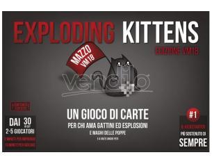 ASTERION EXPLODING KITTENS VM 18 EDITION GIOCO DA TAVOLO