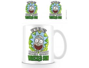 PYRAMID INTERNATIONAL RICK AND MORTY WRECKED SON MUG TAZZA