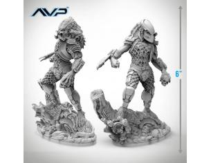 PRODOS GAMES AVP PREDATOR JUNGLE HUNTER STATUE 6 Inch STATUA