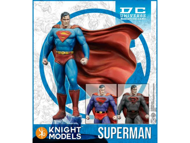 KNIGHT MODELS DCUMG SUPERMAN resin WARGAME