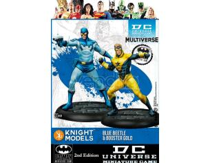 KNIGHT MODELS BMG DCUMG BLUE BEETLE & BOOSTER GOLD WARGAME
