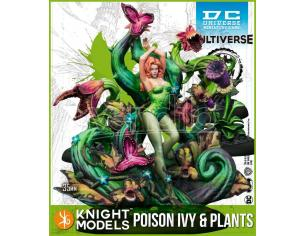 KNIGHT MODELS BMG DCUMG POISON IVY & PLANTS (Comics) WARGAME