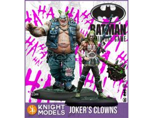 KNIGHT MODELS BMG JOKER s CLOWNS WARGAME