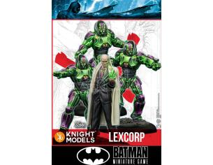 KNIGHT MODELS BMG LEX LUTHOR & LEXCORP TROOPERS WARGAME