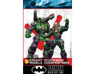 KNIGHT MODELS BMG LUTHOR WARSUIT&LEXCORP HEAVY TROOPER WARGAME