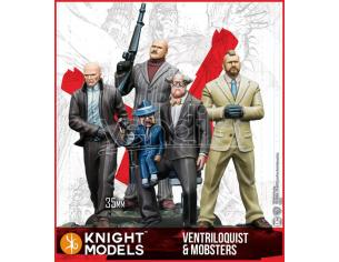 KNIGHT MODELS BMG THE VENTRILOQUIST & MOBSTERS WARGAME