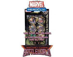 WIZKIDS MHC SECRET WARS-BATTLEWORLD DICE & TOKEN GIOCO DA TAVOLO