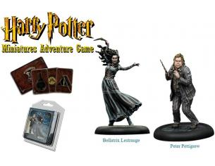 KNIGHT MODELS HPMAG BELLATRIX & WORMTAIL GIOCO DA TAVOLO