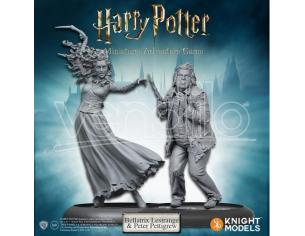HARRY POTTER KNIGHT MODELS BELLATRIX & WORMTAIL GIOCO DA TAVOLO