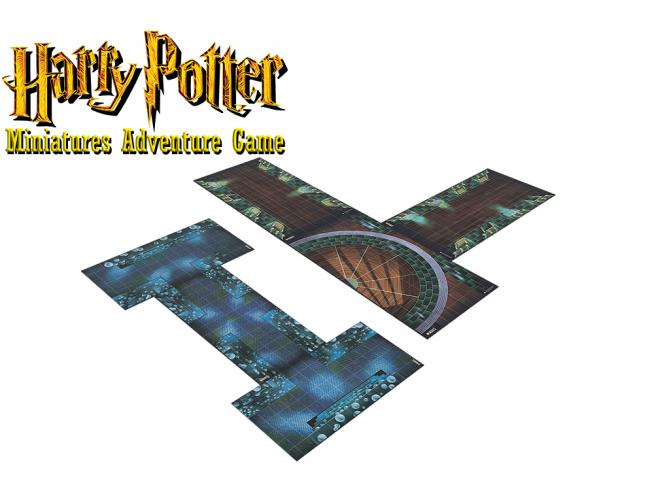 HARRY POTTER KNIGHT MODELS MINISTRY OF MAGIC ADVENTURE PACK GIOCO DA TAVOLO