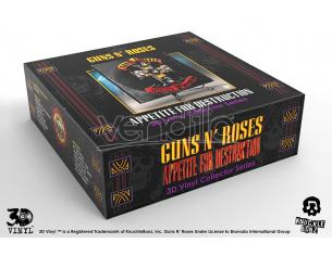 KNUCKLEBONZ GUNS N ROSES APPETITE FOR DESTRUCT 3D REPLICA