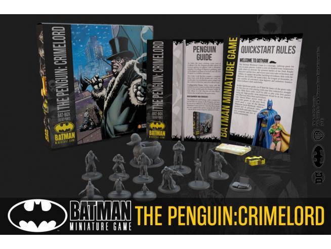 KNIGHT MODELS BMG THE PENGUIN CRIMELORD BAT BOX WARGAME