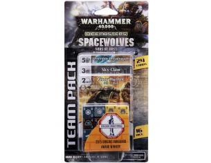 Wizbambino W40k Dicemasters Space Wolves Team Pack Gioco Da Tavolo
