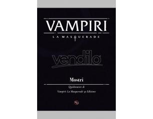 ASTERION VAMPIRE LA MASQUERADE - MOSTRI GIOCO DI RUOLO