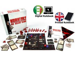 STEAMFORGED GAMES RESIDENT EVIL 2 - THE BOARD GAME GIOCO DA TAVOLO