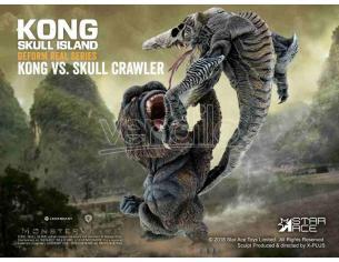 STAR ACE KONG SKULL ISLAND KONG VS CRAWLER DEFORM STATUA