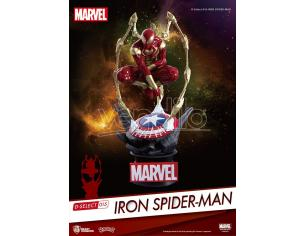 BEAST KINGDOM D-SELECT IRON SPIDER FIG MINI FIGURA
