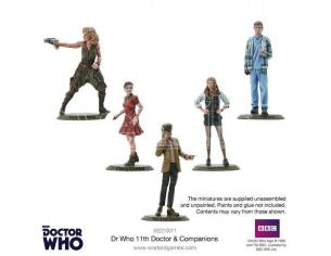 WARLORD GAMES DOCTOR WHO 11TH DOCTOR AND COMPANIONS Miniature e Modellismo