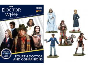 WARLORD GAMES DOCTOR WHO 4TH DOCTOR AND COMPANIONS Miniature e Modellismo