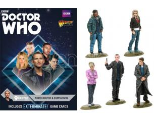 Warlord Games Doctor Who 9th Doctor E Companions Miniature E Modellismo