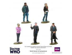 WARLORD GAMES DOCTOR WHO 9TH DOCTOR AND COMPANIONS Miniature e Modellismo