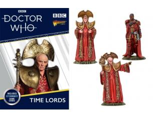 WARLORD GAMES DOCTOR WHO TIME LORDS Miniature e Modellismo