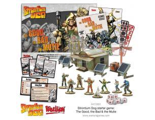 WARLORD GAMES STRONTIUM DOG STARTER SET WARGAME