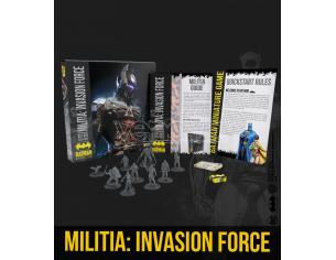 KNIGHT MODELS BMG MILITIA: INVASION FORCE BAT BOX WARGAME