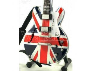 VARI MINI GUITAR OASIS N GALLAGHER UNION JACK REPLICA
