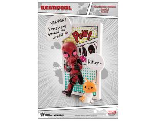 Beast Kingdom Deadpool Jump Out 4th Wall Mini Uova Fig Mini Figura