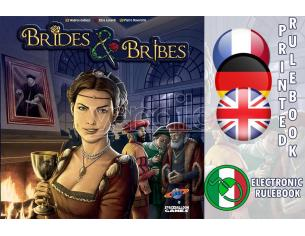 SPACEBALLOON GAMES BRIDES & BRIBES GIOCO DA TAVOLO