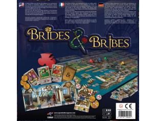 SPACEBALLOON GAMES BRIDES & BRIBES GIOCO DA TAVOLO