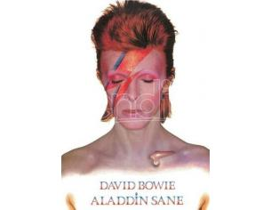 AQUARIUS ENT DAVID BOWIE ALADDIN SANE TIN SIGN INSEGNA