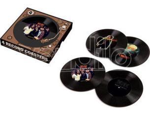 AQUARIUS ENT AC/DC RECORD COASTERS SOTTOBICCHIERI