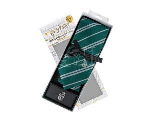 Harry Potter Cinereplicas  Slytherin Necktie Dlx Box Set Cravatta