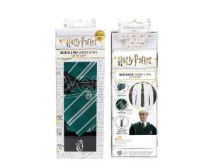 CINEREPLICAS HP SLYTHERIN NECKTIE DLX BOX SET CRAVATTA