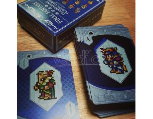 SQUARE ENIX FINAL FANTASY TRANSPARENT POKER CARDS CARTE DA GIOCO