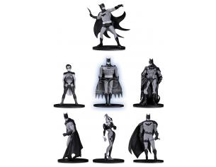 DC DIRECT BATMAN B&W MINI PVC FIG S.2 7-PACK MINI FIGURA