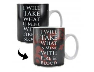 HMB GOT DAENERYS HEAT CHANGING MUG TAZZA