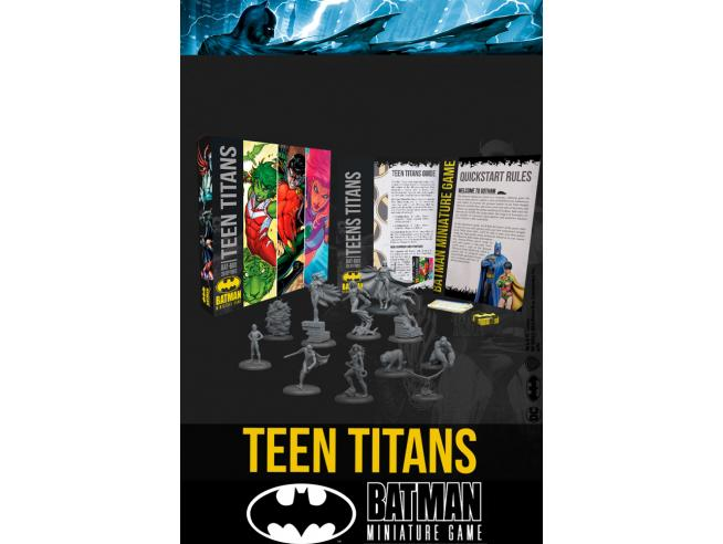 KNIGHT MODELS BMG TEEN TITANS BAT BOX WARGAME
