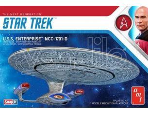 AMT STAR TREK USS ENTERPRISE D (SNAP) MK MODEL KIT
