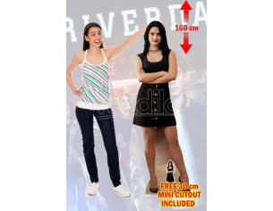 STAR RIVERDALE VERONICA LODGE LIFESIZE CUTOUT Sagomato Lifesize